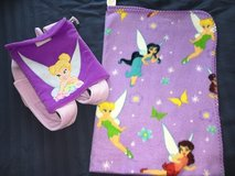 Small Tink Backpack w Fairy Throw $4 in Naperville, Illinois