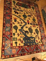 Wool carpet with beautiful theme in Ramstein, Germany