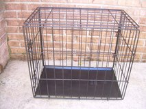 METAL FOLD UP ANIMAL CAGE/CRATE----STILL AVAILABLE in Warner Robins, Georgia