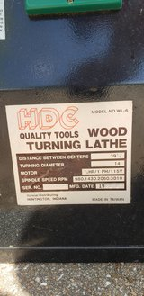 HDC Wood Lathe in Kingwood, Texas