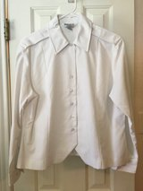 Army Womens ASU white overblouse - long sleeve - size16S in Fort Hood, Texas