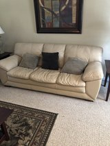 Italian leather Couch x2 in Camp Lejeune, North Carolina