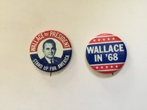 Older Campaign Buttons in Camp Lejeune, North Carolina