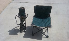 Kids camping chairs in 29 Palms, California