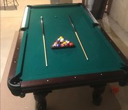 American Heritage 8ft Pool table in Morris, Illinois