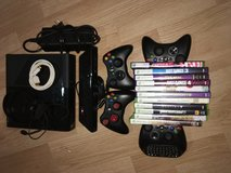 XBOX 360 with Kinect, games, and controller in Bolingbrook, Illinois