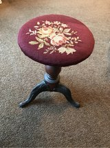 antique piano stool in Plainfield, Illinois