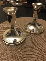 Godinger silver plated candle stick holders in Chicago, Illinois