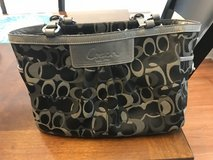 Reduced: Coach Black Purse in Yorkville, Illinois