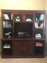 Executive bookshelf in Kingwood, Texas