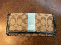 Coach Brown Wallet in Aurora, Illinois