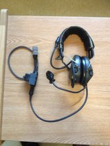Headset with mic and radio jack in Camp Humphreys, South Korea