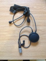 Dismount headset with mic and radio jack in Camp Humphreys, South Korea