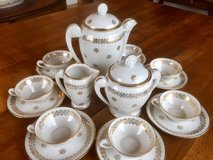 French Porcelain Tea Set, Coffee set in Ramstein, Germany