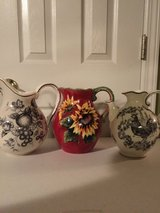 Decorative Pitchers (price each) in Eglin AFB, Florida