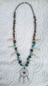 Handmade Vintage Turquoise & Red Jasper Necklace in Bowling Green, Kentucky