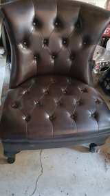 Faux Leather Tufted Side Chair in Pleasant View, Tennessee
