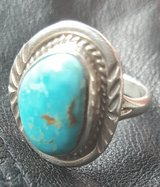 Mike Begay Turquoise Sterling Ring in Bowling Green, Kentucky