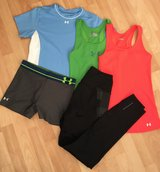Woman's workout clothes in Stuttgart, GE