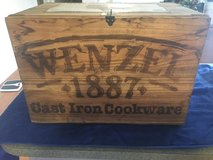 WENZEL  CAST IORN  COOKWARE  BOX in Fort Campbell, Kentucky
