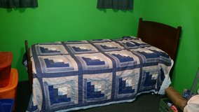 Antique twin bed in Fort Polk, Louisiana