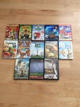 13 DVDs for $15 in Plainfield, Illinois