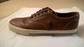 MEN'S  SIZE 13 POLO LEATHER CASUAL SNEAKERS in Biloxi, Mississippi