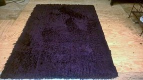 PURPLE SHAG AREA RUG in Keesler AFB, Mississippi