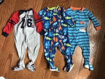 12 mo baby boy pjs in Lockport, Illinois