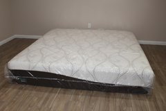 King-size Gel Simmons Beautyrest ComforPedic from BeautyRest 14-inch in Tomball, Texas