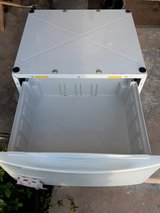 White DRAWER PEDESTAL For a Washer And Dryer in Camp Pendleton, California