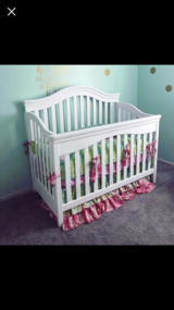 Crib/bedding/changing pad in Fort Rucker, Alabama