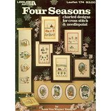 1980 FOUR SEASONS CHARTS: NEEDLEPOINT or CROSS STITCH LA 174 Bklt in Chicago, Illinois