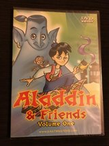 NIP Aladdin & Friends Vol. 1, Classic Fables Great Expectations, and Robin Hood dvds in Camp Lejeune, North Carolina