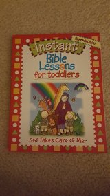 NEW Bible Lesson Plans for toddlers book in Bartlett, Illinois