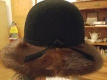 real mink hat in Spangdahlem, Germany
