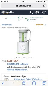 REDUCED 220v Avent baby food processor and steamer in Los Angeles, California