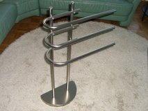 towel holder stand - as new in Ramstein, Germany