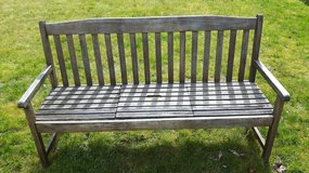 Wooden Bench - Good Condition - Seats 3 in Spangdahlem, Germany