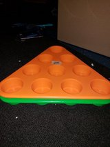 Beer pong holders in Fort Campbell, Kentucky