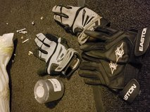 Batting gloves in Fort Campbell, Kentucky