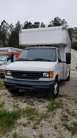 2007 Ford Box Truck 14ft in Camp Lejeune, North Carolina