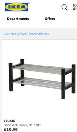 IKEA shoe racks set of 2 in Yuma, Arizona