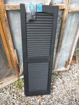 Shutters, New Black Plastic in Camp Lejeune, North Carolina