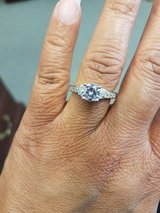 Stainless Steel CZ Ring size 7 in Beaufort, South Carolina