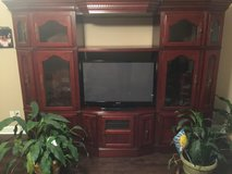 LARGE CHERRY ADJUSTABLE WALL UNIT in Macon, Georgia