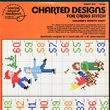 1978 KIDS GROWTH CHART Cross Stitch PATTERN in Naperville, Illinois