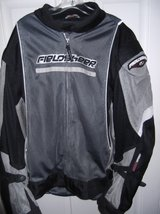MOTORCYCLE JACKET    3 XL/  /boots, HELMET, SADDLEMAN STORAGE in Cherry Point, North Carolina