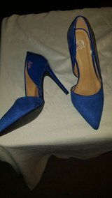 royal blue heels in Conroe, Texas