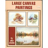 1980 PAT CRUME HOW-TO OIL PAINTING LG CANVAS BOOKLET in Glendale Heights, Illinois